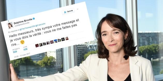 La réponse cinglante de Delphine Ernotte, présidente de France Télé, à Mathieu Madénian et Thomas VDB
