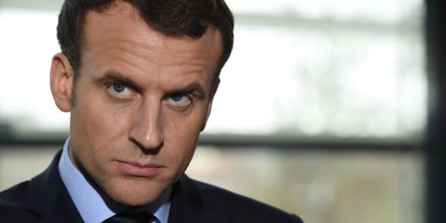 """Emmanuel Macron veut """"un dialogue exigeant"""" entre Donald Trump et Kim Jong Un"""