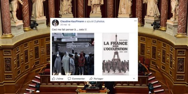 Claudine Kauffmann, la nouvelle sénatrice FN comparait les migrants à l'Occupation nazie