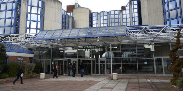 """Le patron du """"Cénacle"""" était jugé devant le tribunal correctionnel de Bobigny, ici photographié."""