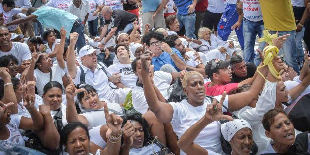 Ségolène Royal défend la vision cubaine des droits de l'Homme, pourtant en 2015, la France a accueilli onze demandeurs d'asile cubains
