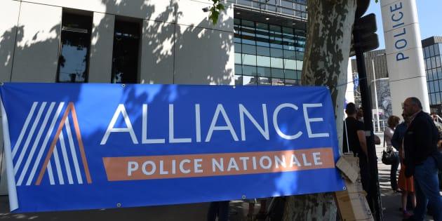 Le siège du syndicat policier Alliance (illustration)