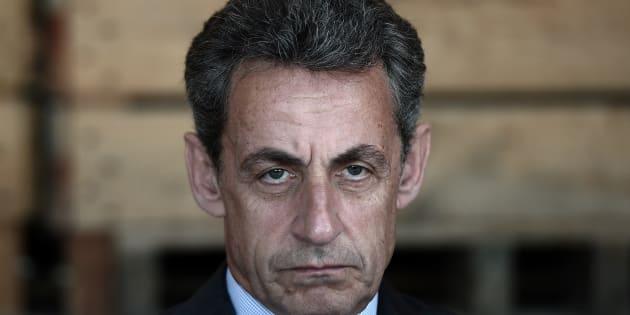 Nicolas Sarkozy à Kriegsheim (Bas-Rhin) le 9 juillet 2016.