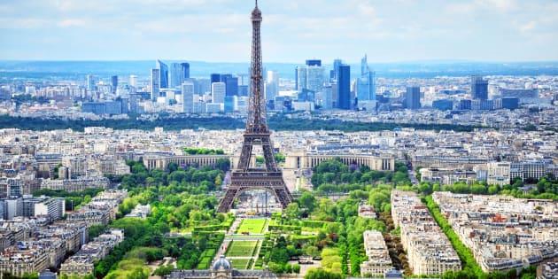 Ce que pourrait être Paris en 2050 si son Plan Climat est adopté.