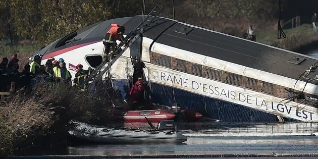 TGV qui a déraillé en Alsace: la SNCF mise en examen