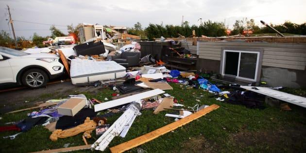 De nombreuses pannes de courant, principalement en Outaouais après la tornade