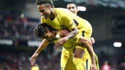 Neymar buteur et passeur décisif contre Guingamp pour son premier match avec le
