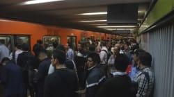 Sin metro y con niveles récord de lluvia: la tarde de horror en