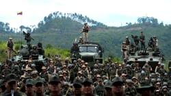 Ante amenaza de Trump, Maduro moviliza a la Fuerza Armada de