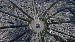 París se ve aún más espectacular desde el