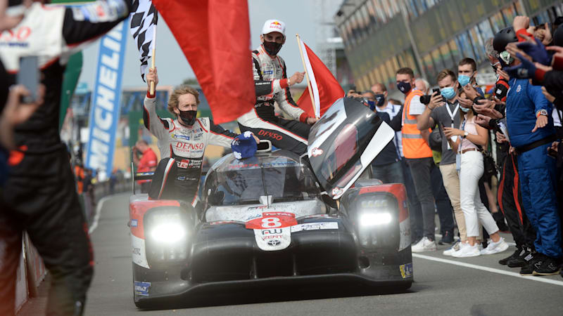 Toyota Gazoo wins 24 Hrs Le Mans for 3rd straight year