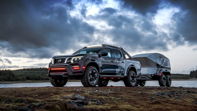 Nissan Navara Dark Sky Concept is off-road space exploration machine - Autoblog