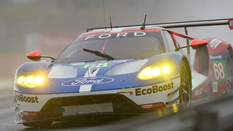 Fifty Years After Bruce Mclaren And Chris Amon Drove The Ford Gt To Victory At The  Hours Of Le Mans Ford Is Poised For A Historic Return To The