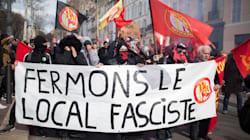 À Marseille, des centaines de personnes manifestent contre l'installation d'un groupe d'extrême