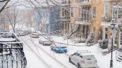 Une première tempête de neige à Montréal prévue pour