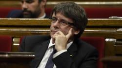 Puigdemont suspend sans explication son discours très