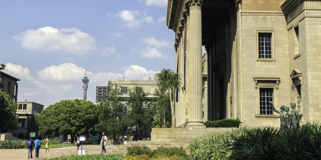 Wits University in Johannesburg.