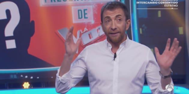 Pablo Motos en 'El Hormiguero'.