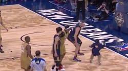 Ce garçon malade a fait sensation lors d'un match de basket de