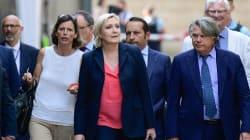 Pour Marine Le Pen , Bayrou s'est fait jeter