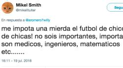 El tremendo 'corte' de una jugadora del Betis a este tuit sobre fútbol