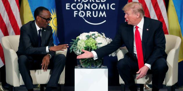 Paul Kagame et Donald Trump