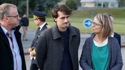 Le journaliste Loup Bureau est arrivé à Paris, après plus de 50 jours de détention en