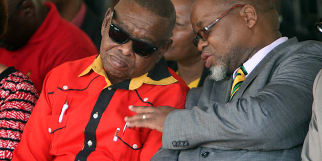 The end of a beautiful friendship? ANC General Secretary; Gwede Mantashe with the South African Communist Party General Secretary Blade Nzimande.