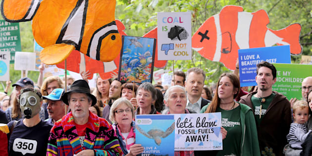 Protests around the country have pressured the government to change their mind about Adani mine approval.