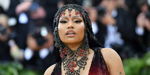 Nicki Minaj lors du gala du Met à New York le 7 mai 2018.