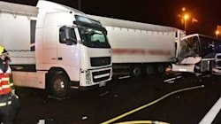 65 blessés dans un important carambolage sur l'A13 en direction de