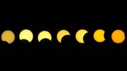 Aqui estão as melhores fotos do primeiro eclipse solar do