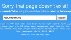 Un empleado borró la cuenta de Twitter de Donald