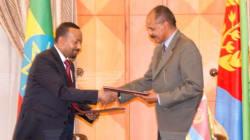 Storico abbraccio tra Etiopia ed Eritrea: firmata la pace dopo vent'anni di