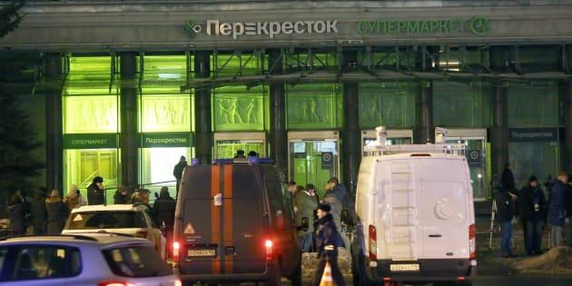 Explosion à Saint-Pétersbourg: l'auteur de l'attentat interpellé.