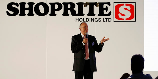 Shoprite Holdings Chairman Christo Wiese, whose companies also include Steinhoff International, speaks as Shoprite reported it's results in Cape Town, South Africa, February 21, 2017.