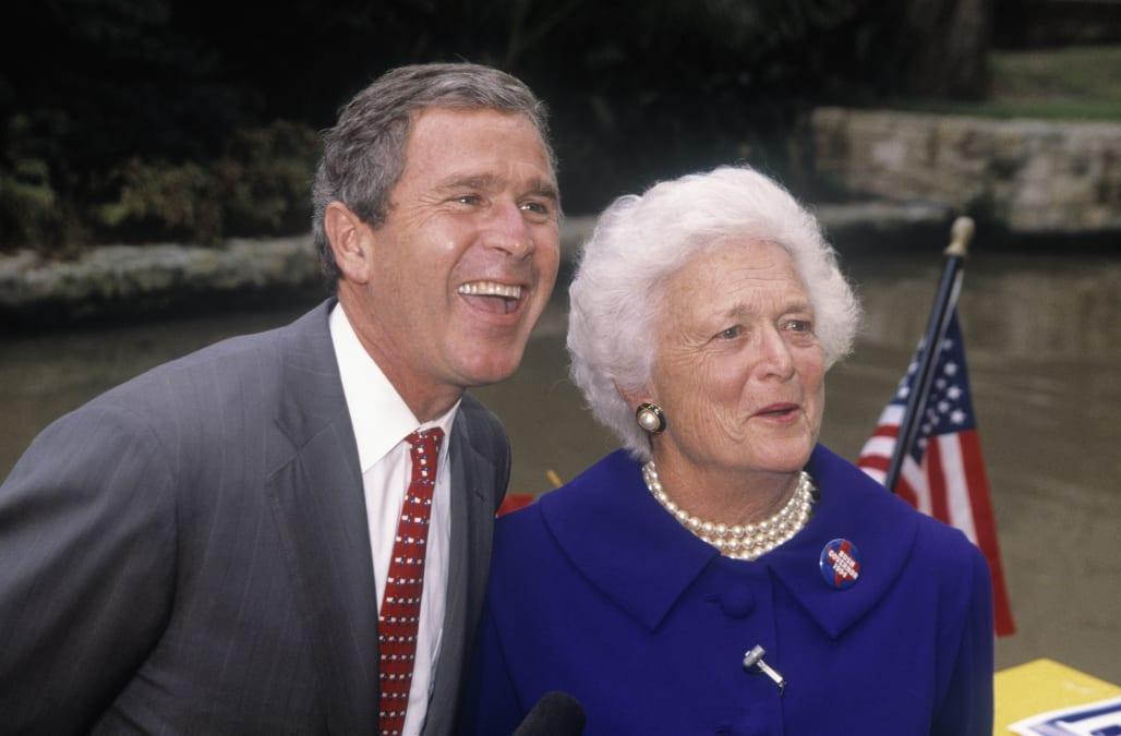 Public Figures React To The Death Of Barbara Bush Aol News