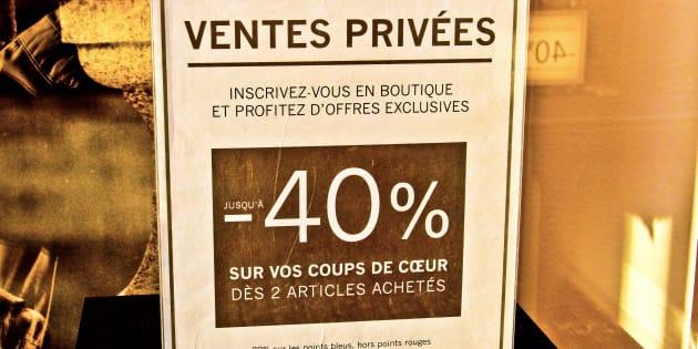 Oui, les soldes ont encore un intérêt malgré les ventes privées (y compris sur internet) (Photo prétexte)