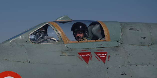 Indian Air Chief Marshal B S Dhanoa on Thursday flew a solo sortie of the MiG-21 Type 96.