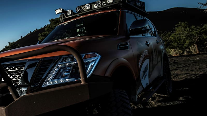 Nissan Armada Mountain Patrol to debut tonight at Overland Expo WEST