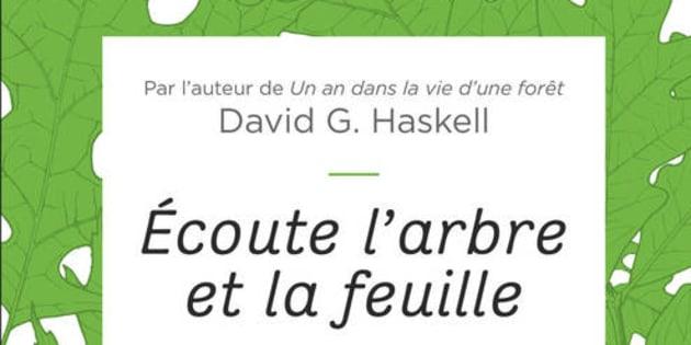 """""""Écoute l'arbre et la feuille"""" a été publié aux éditions Flammarion."""