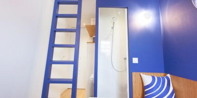 Cette chambre de bonne parisienne a t m tamorphos e en studio design et confort - Sous location chambre de bonne paris ...