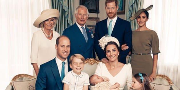 Louis, ecco i ritratti ufficiali del piccolo principe