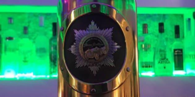 Imagen de la botella de vodka de la marca Russo-Baltique.