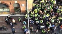 Des gilets jaunes s'en prennent à des journalistes de BFMTV, CNews et Midi