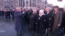 Claude Lelouch indigne en sortant son téléphone pour filmer les invités en