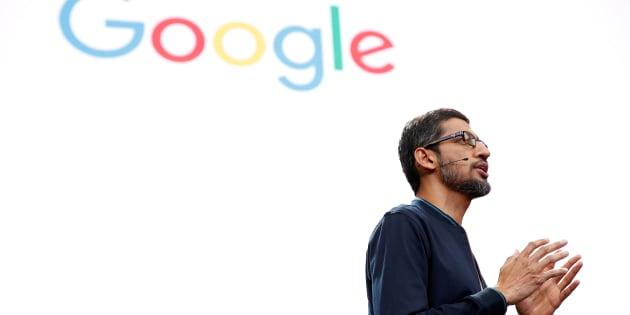 Sundar Pichai, PDG de Google, né en Inde. Avec les patrons d'Amazon, Yelp et bien d'autres, il se mobilise contre le décret de Trump.