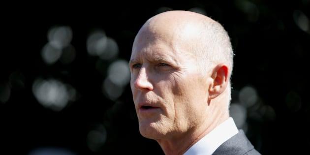 Le gouverneur de la Floride, Rick Scott.
