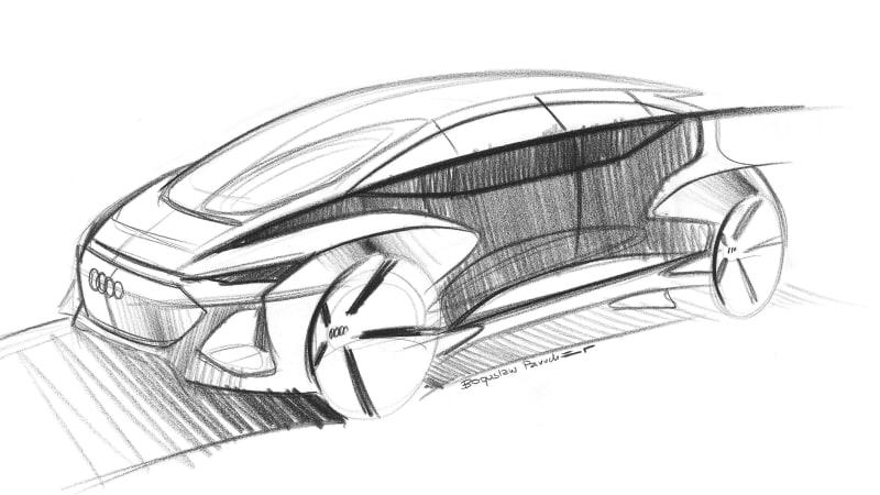 Audi AI:me Concept sketches an autonomous pod to debut in Shanghai