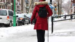 Montréal: pas de déblaiement de la neige et de la glace...le temps doux fera le